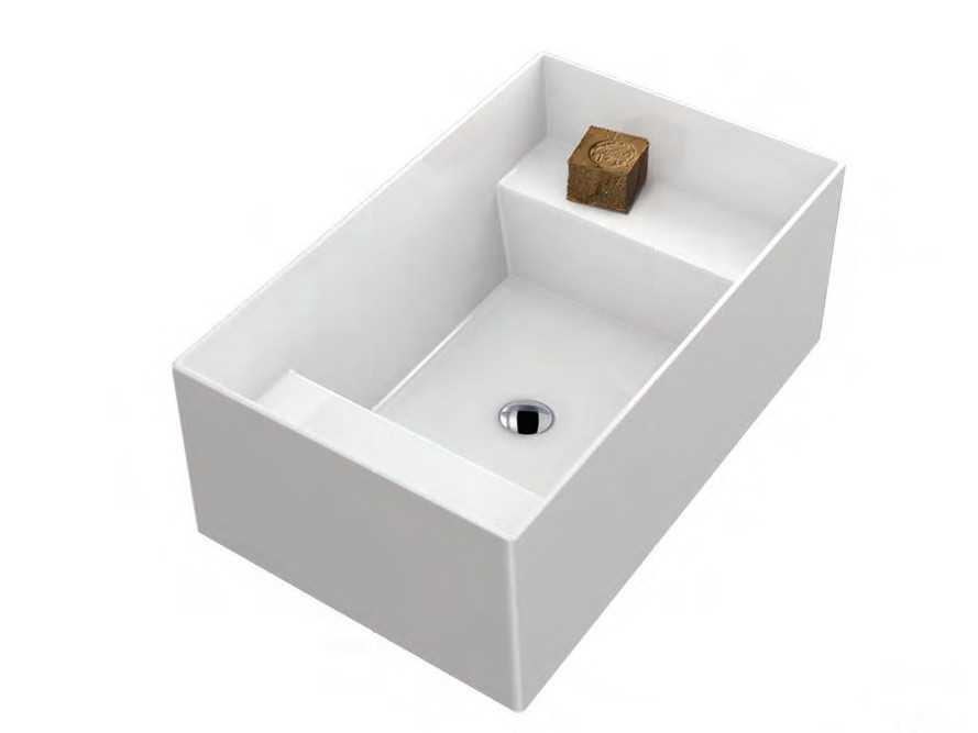Sanitari arredo bagno alto adige meg11 lavabo lavatoio for Galassia ceramica