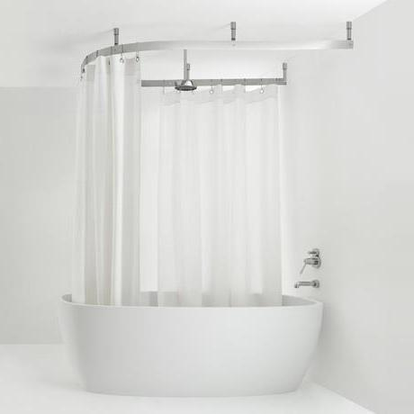 Sanitari arredo bagno alto adige cooper sistema tenda doccia di agape design - Tenda doccia design ...