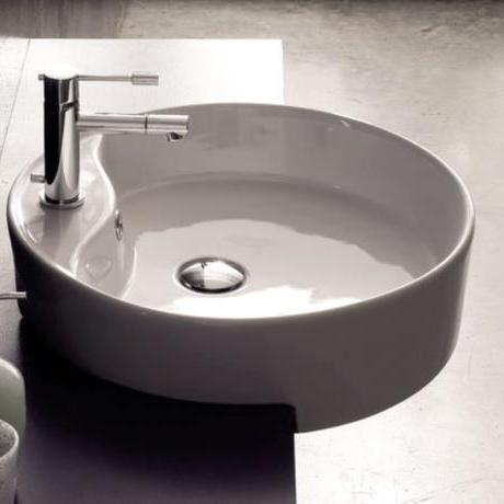 Scarabeo Waschbecken fliesen sanitäre badeinrichtung südtirol teorema