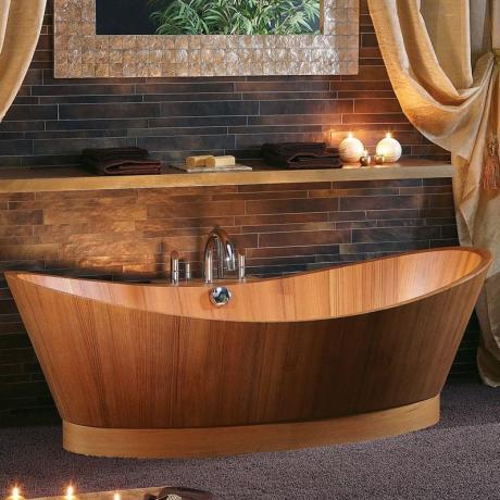 fliesen sanit re badeinrichtung s dtirol holz wanne. Black Bedroom Furniture Sets. Home Design Ideas