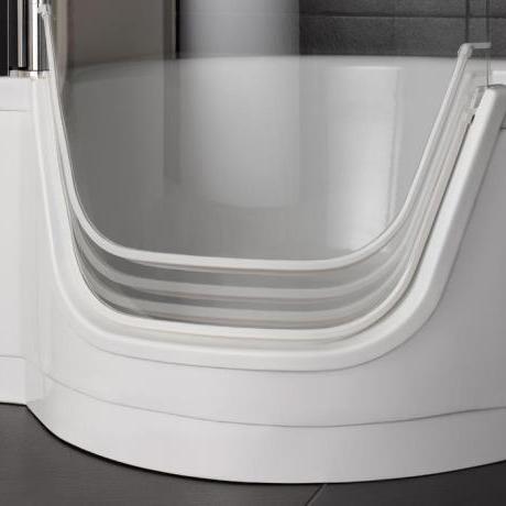 Sanitari arredo bagno alto adige bettetwist vasca combinata con porta di bette - Vasca da bagno combinata ...