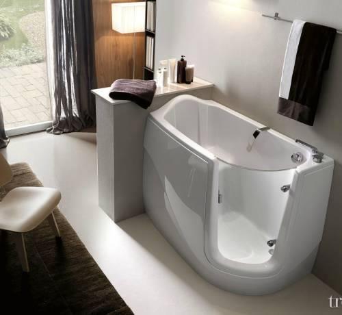 Sanitari & Arredo bagno Alto Adige - GEN-X vasca con porta di TREESSE