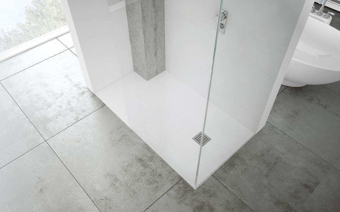fliesen, sanitäre & badeinrichtung südtirol - silex duschtasse von fiora