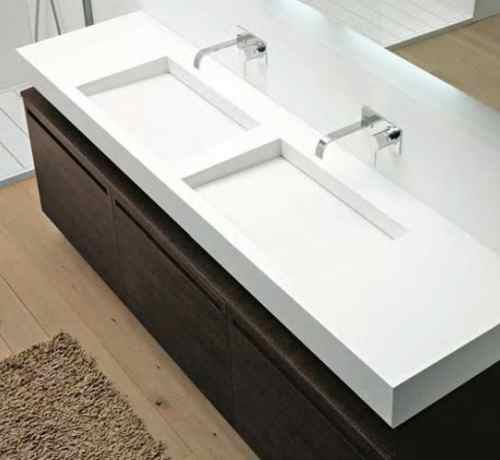 slot waschtisch aus corian von antonio lupi badeinrichtung termocenter. Black Bedroom Furniture Sets. Home Design Ideas