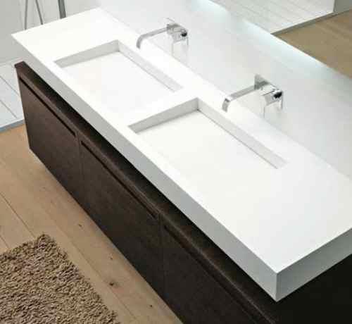 slot waschtisch aus corian von antonio lupi. Black Bedroom Furniture Sets. Home Design Ideas