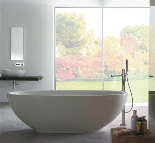 Sanitari arredo bagno alto adige bowl vasca da bagno di globo ceramica - Vasca da bagno ceramica ...