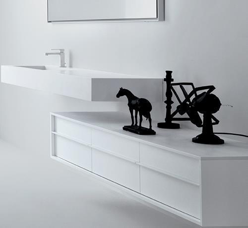 sanitari & arredo bagno alto adige - shape mobile da bagno di falper - Falper Arredo Bagno