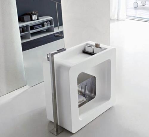 fliesen sanit re badeinrichtung s dtirol sixty freistehender waschtisch von toscoquattro. Black Bedroom Furniture Sets. Home Design Ideas