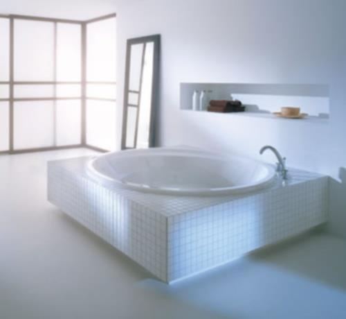 Sanitari arredo bagno alto adige aqualoop vasca rotonda di villeroy boch - Villeroy boch piastrelle ...