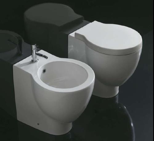 fliesen sanit re badeinrichtung s dtirol bowl wc bidet von globo ceramica. Black Bedroom Furniture Sets. Home Design Ideas