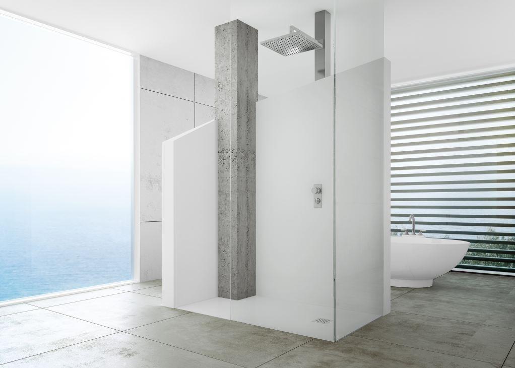 Sanitari arredo bagno alto adige silex piatto doccia di fiora - Posa piatto doccia prima o dopo piastrelle ...