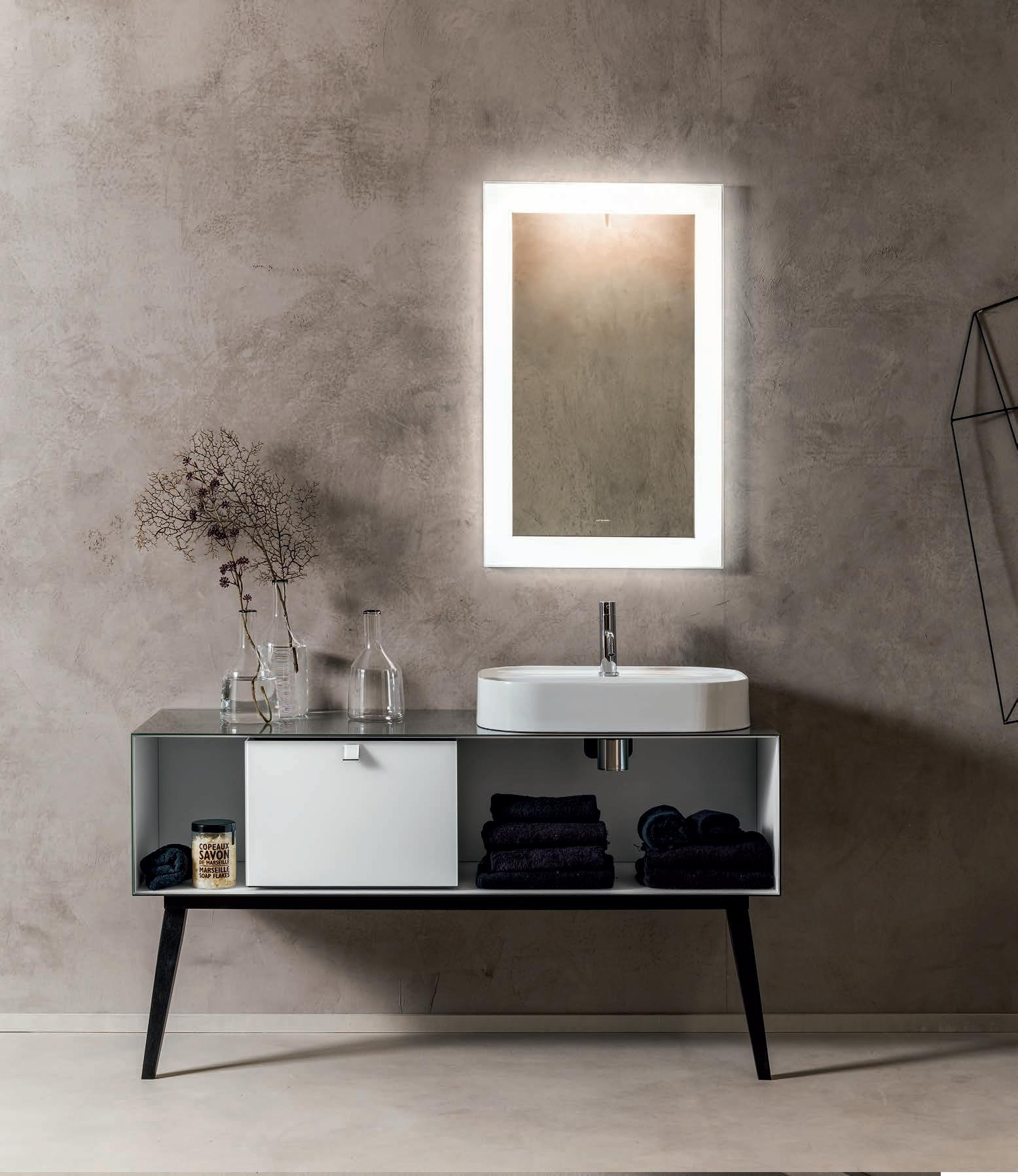 Sanitari & Arredo bagno Alto Adige - Dama mobili da bagno di vetro ...