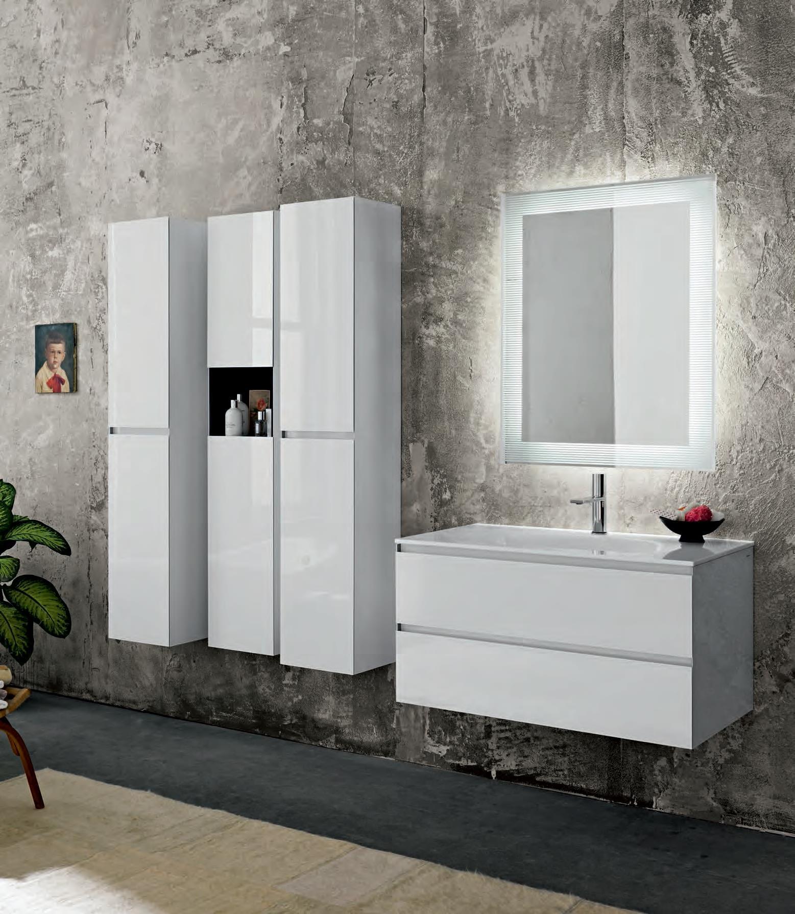 Sanitari arredo bagno alto adige domino mobili di for Mobili di bagno