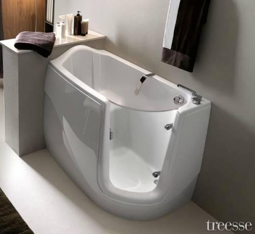 Sanitari arredo bagno alto adige gen x vasca con porta - Vasche da bagno con apertura laterale ...