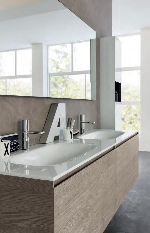 Sanitari & Arredo bagno Alto Adige - Domino mobili di cristallo da ...