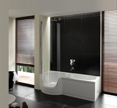 fliesen sanit re badeinrichtung s dtirol bettetwist wanne mit t r von bette. Black Bedroom Furniture Sets. Home Design Ideas