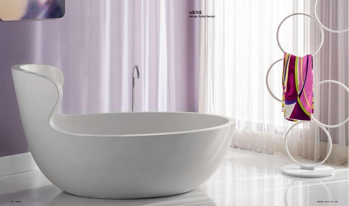 arne freistehende wanne von rapsel badeinrichtung termocenter. Black Bedroom Furniture Sets. Home Design Ideas