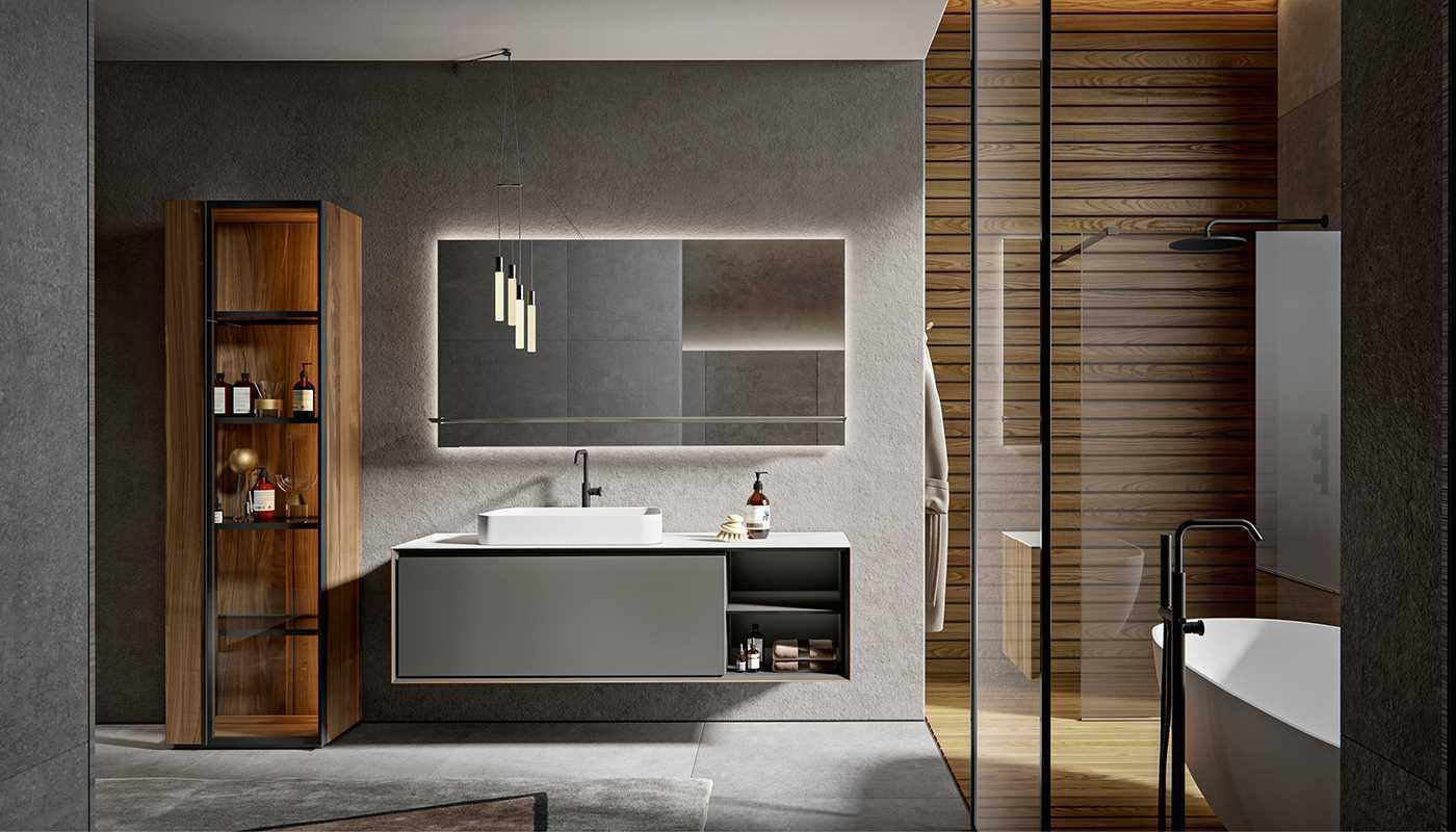 Sanitari arredo bagno alto adige crio mobile da bagno di edon - Agora mobili bagno ...