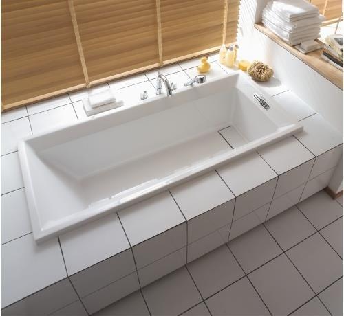 Sanitari arredo bagno alto adige 2 floor vasca rettangolare di duravit - Vasca da bagno duravit ...