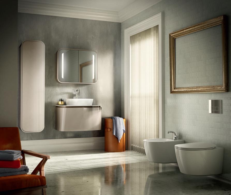 Sanitari arredo bagno alto adige dea ceramica sanitaria di ideal standard - Mobili bagno ideal standard ...
