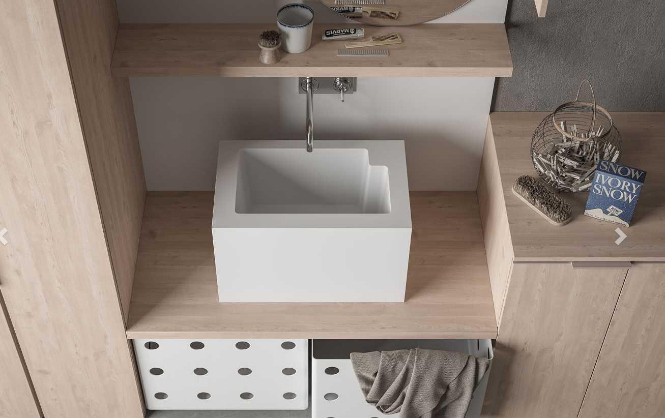 Sanitari arredo bagno alto adige drop mobile da bagno di novello