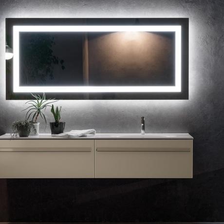 Sanitari arredo bagno alto adige riga mobili da bagno di vetro di artelinea - Mobili bagno in vetro ...