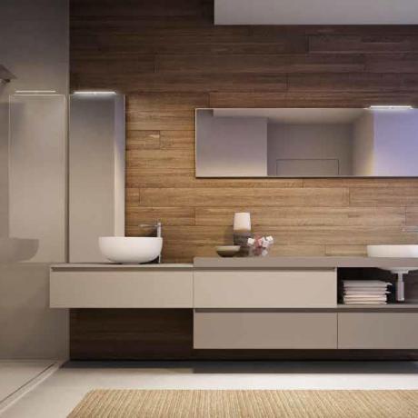Sanitari arredo bagno alto adige cubik mobile da bagno for Center mobili outlet