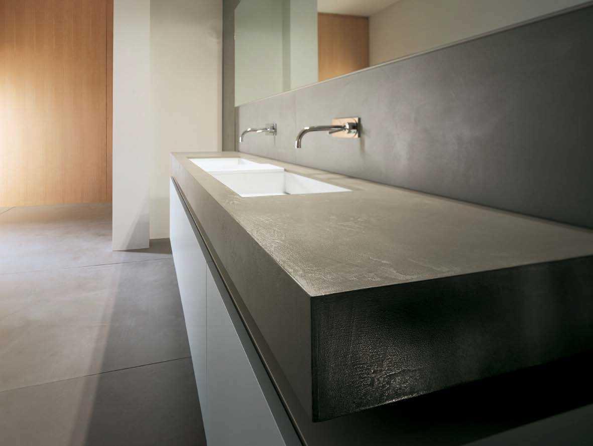 Sanitari & Arredo bagno Alto Adige - CEMENTO lavabi e mobili di moab80