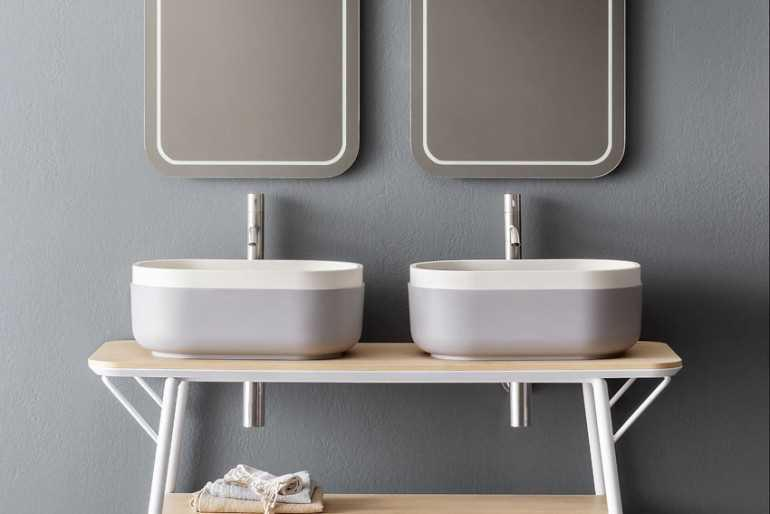 Sanitari arredo bagno alto adige oblon mobile da bagno di novello